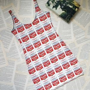 Campbell's Soup Andy Warhol Mini Dress